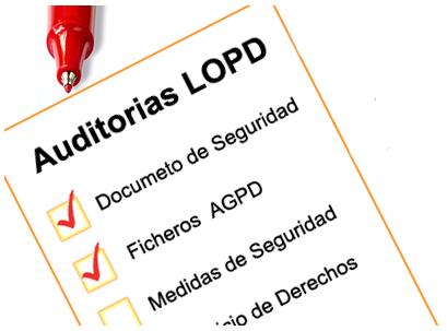 ¿Cuál es el contenido que debe tener un informe de auditoría LOPD?
