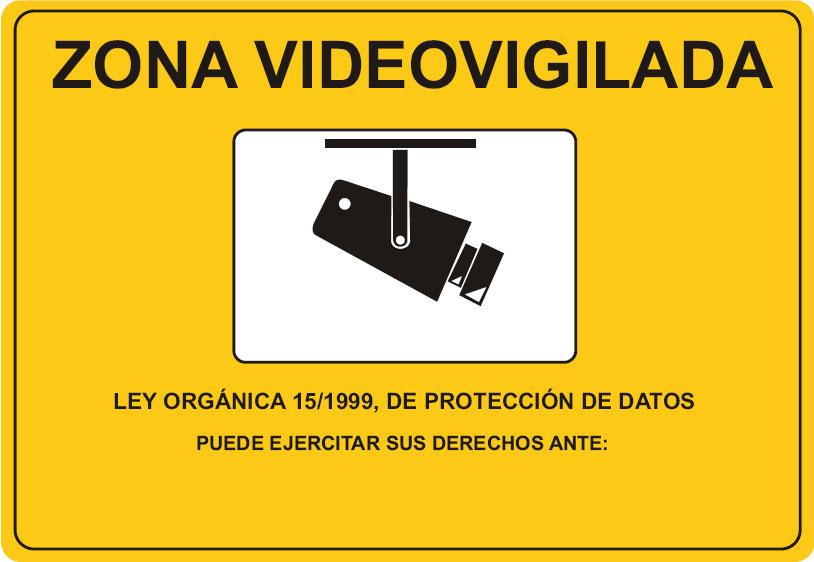 Sanciones lopd canarias protec datos - Cartel de videovigilancia ...
