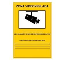 Videovigilancia protec datos - Cartel de videovigilancia ...