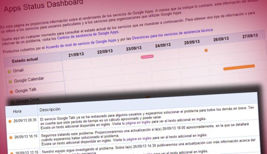 google talk incidencia